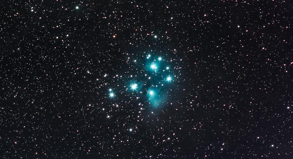 M45 stars